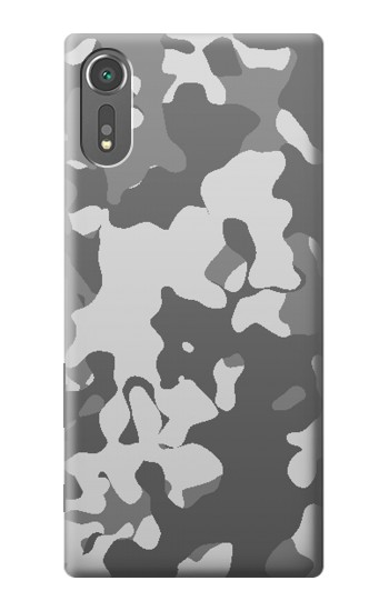 Printed Gray Camo Camouflage Graphic Printed Sony Xperia C5 Ultra Case