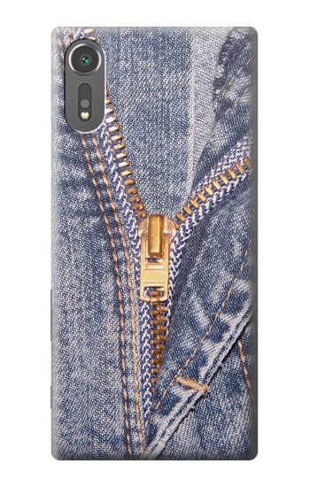 Printed Jeans Zip Graphic Printed Sony Xperia C5 Ultra Case
