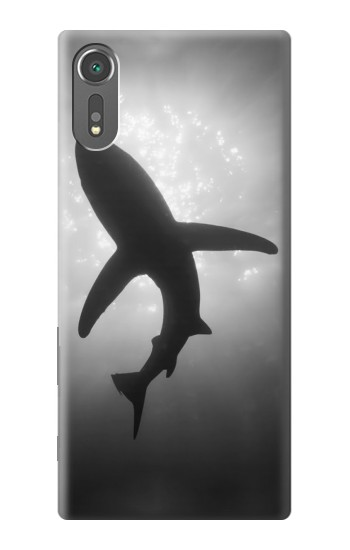Printed Shark Monochrome Sony Xperia C5 Ultra Case