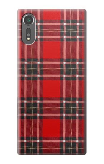 Printed Tartan Red Pattern Sony Xperia C5 Ultra Case