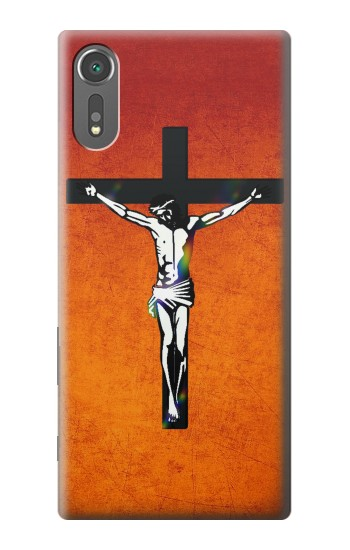 Printed Jesus Christ On The Cross Sony Xperia C5 Ultra Case