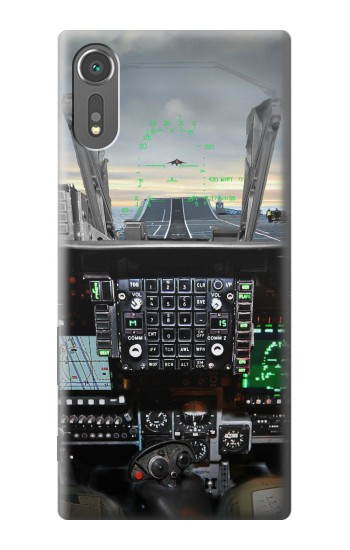 Printed Fighter Jet Aircraft Cockpit Sony Xperia C5 Ultra Case