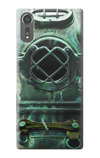 Printed Antique Vintage Deep Sea Diver Helmet Sony Xperia C5 Ultra Case