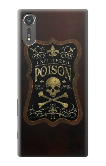 Printed Unfiltered Poison Vintage Glass Bottle Sony Xperia C5 Ultra Case