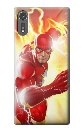 Printed Thunder Flash Superhero Sony Xperia C5 Ultra Case