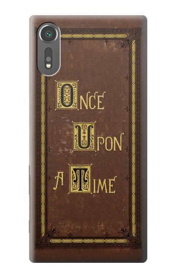 Printed Once Upon a Time Book Cover Sony Xperia C5 Ultra Case