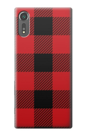 Printed Red Buffalo Check Pattern Sony Xperia C5 Ultra Case