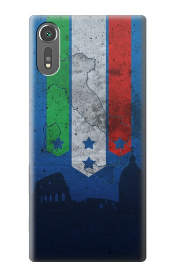 Printed Italy Football Flag Sony Xperia C5 Ultra Case