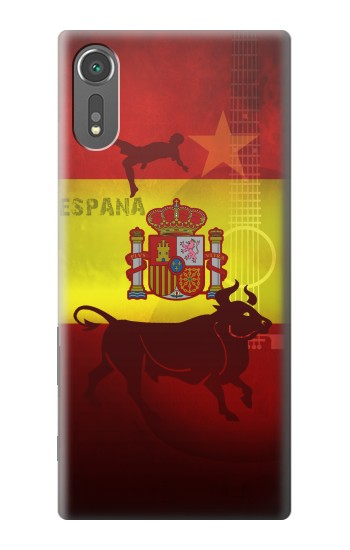 Printed Spain Football Flag Sony Xperia C5 Ultra Case