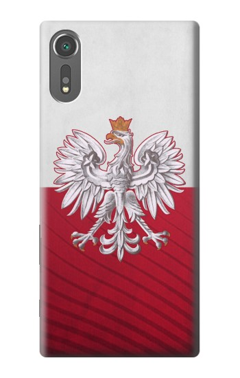 Printed Poland Football Flag Sony Xperia C5 Ultra Case