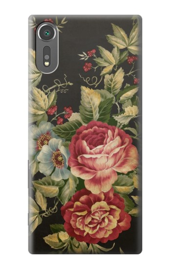 Printed Vintage Antique Roses Sony Xperia C5 Ultra Case