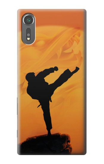 Printed Kung Fu Karate Fighter Sony Xperia C5 Ultra Case