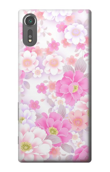 Printed Pink Sweet Flower Flora Sony Xperia C5 Ultra Case