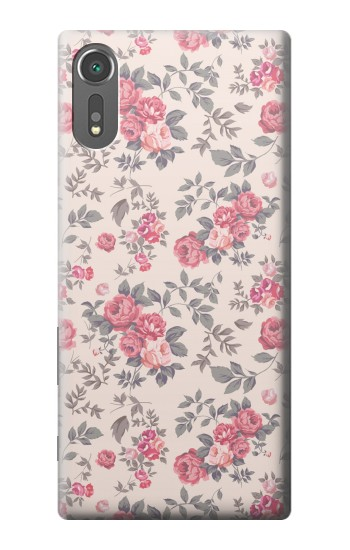 Printed Vintage Rose Pattern Sony Xperia C5 Ultra Case