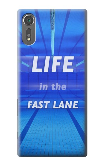 Printed Life in the Fast Lane Swimming Pool Sony Xperia C5 Ultra Case