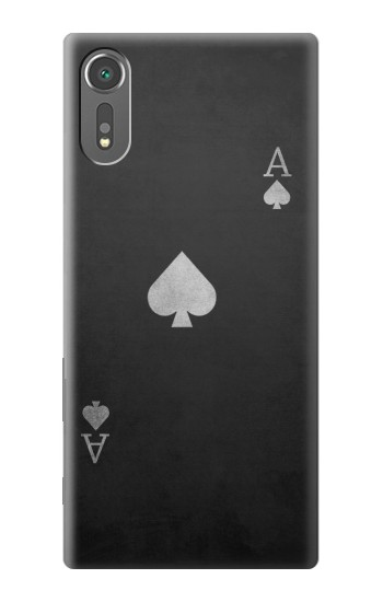Printed Black Ace of Spade Sony Xperia C5 Ultra Case