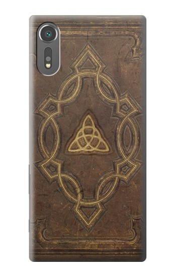 Printed Spell Book Cover Sony Xperia C5 Ultra Case