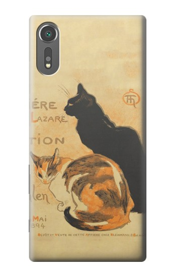 Printed Vintage Cat Poster Sony Xperia C5 Ultra Case