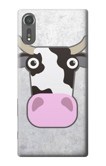 Printed Cow Cartoon Sony Xperia C5 Ultra Case