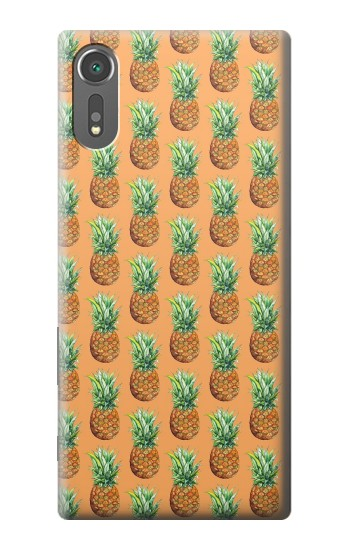Printed Pineapple Pattern Sony Xperia C5 Ultra Case