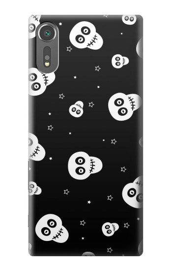 Printed Skull Pattern Sony Xperia C5 Ultra Case