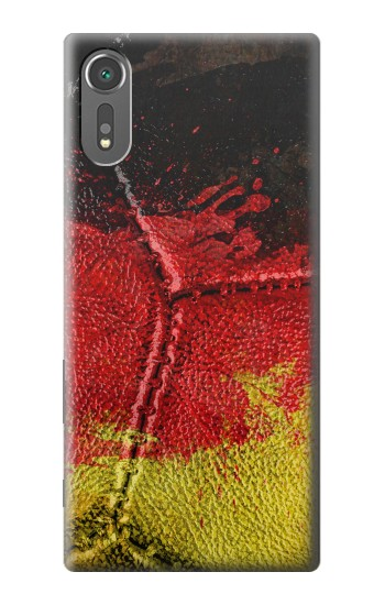 Printed Germany Flag Vintage Football 2018 Sony Xperia C5 Ultra Case