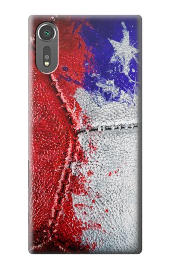 Printed Chile Flag Vintage Football 2018 Sony Xperia C5 Ultra Case