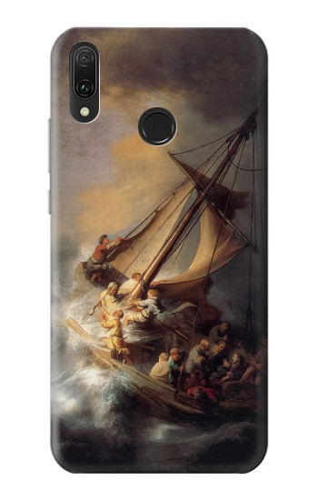 Printed Rembrandt Christ in The Storm Huawei Y9 2019 Case