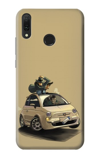 Printed Lupin The Third Huawei Y9 2019 Case