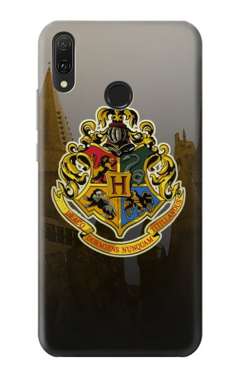 Printed Hogwarts School of Witchcraft and Wizardry Huawei Y9 2019 Case