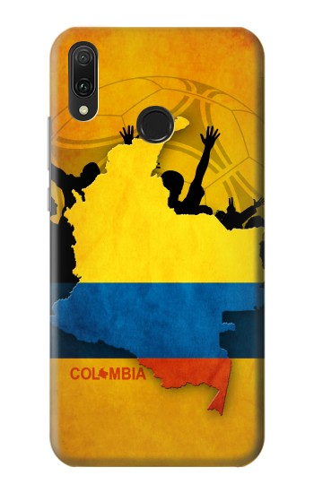 Printed Colombia Football Flag Huawei Y9 2019 Case