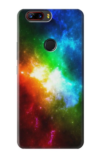 Printed Colorful Rainbow Space Galaxy ZTE nubia Z17 Case