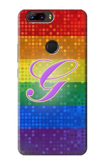 Printed Rainbow Gay Pride Flag Device ZTE nubia Z17 Case