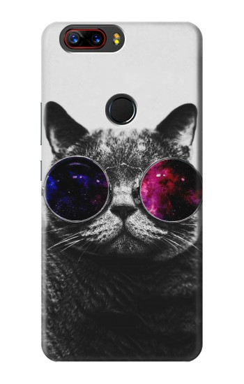 Printed Cool Cat Glasses ZTE nubia Z17 Case