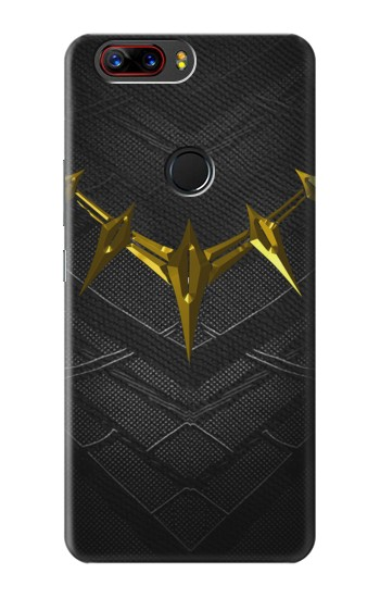 Printed Black Panther Inspired Costume Gold Necklace ZTE nubia Z17 Case