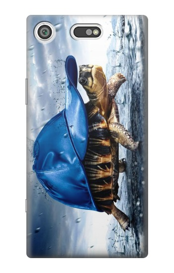 Printed Turtle in the Rain Sony Xperia E5 Case