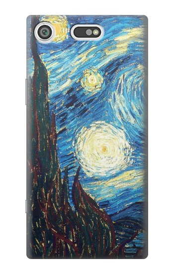 Printed Van Gogh Starry Nights Sony Xperia E5 Case