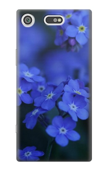 Printed Forget me not Sony Xperia E5 Case