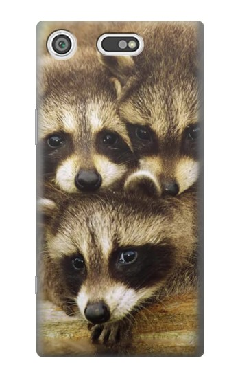 Printed Baby Raccoons Sony Xperia E5 Case