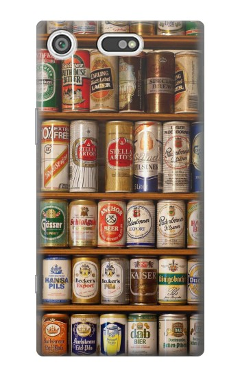 Printed Beer Cans Collection Sony Xperia E5 Case