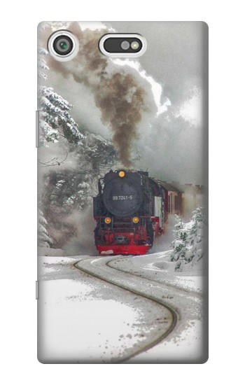 Printed Steam Train Sony Xperia E5 Case