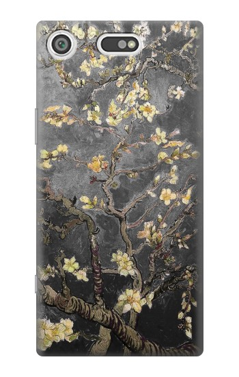 Printed Black Blossoming Almond Tree Van Gogh Sony Xperia E5 Case