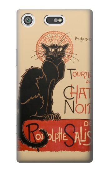 Printed Chat Noir The Black Cat Sony Xperia E5 Case