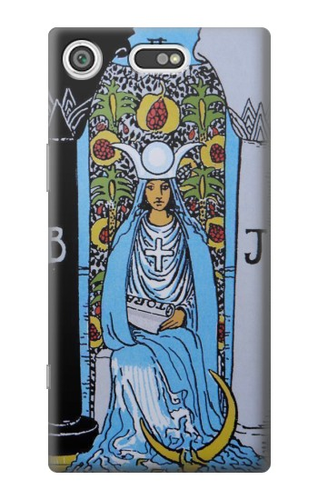 Printed High Priestess Tarot Card Sony Xperia E5 Case