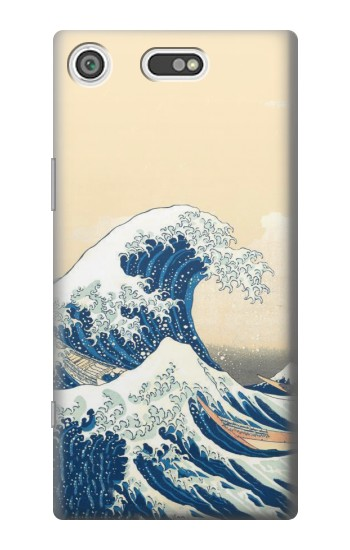 Printed Under the Wave off Kanagawa Sony Xperia E5 Case