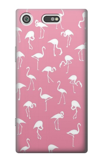 Printed Pink Flamingo Pattern Sony Xperia E5 Case