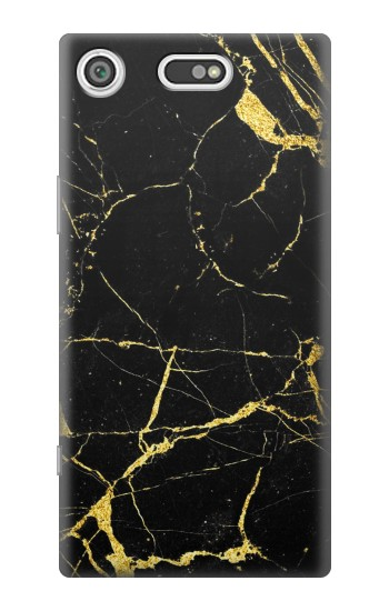 Printed Gold Marble Graphic Printed Sony Xperia E5 Case