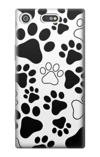 Printed Dog Paw Prints Sony Xperia E5 Case