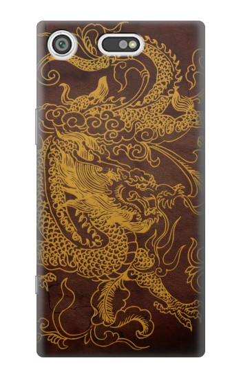 Printed Chinese Dragon Sony Xperia E5 Case