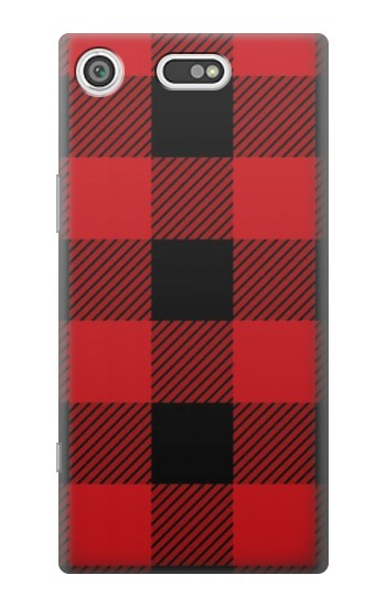 Printed Red Buffalo Check Pattern Sony Xperia E5 Case
